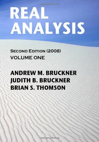 9781438220765: Real Analysis: Second Edition (2008): 1