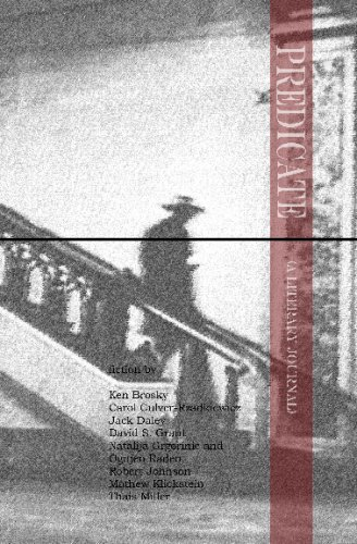9781438221397: Predicate (A Literary Journal): Volume 3