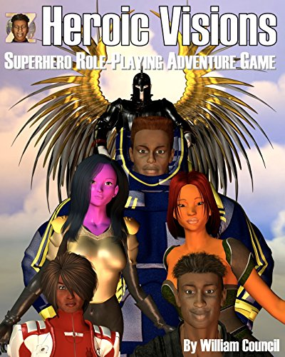 9781438231570: Heroic Visions: Superhero Role Playing Adventure Game