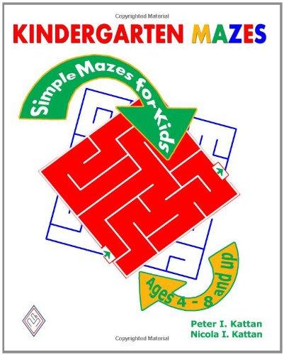 9781438235202: Kindergarten Mazes: Simple Mazes For Kids