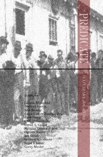 9781438243597: Predicate (A Literary Journal)