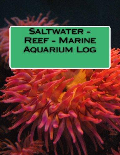 9781438250908: Saltwater - Reef - Marine Aquarium Log