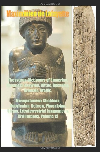 9781438256313: Thesaurus-Dictionary of Sumerian,Anunnaki