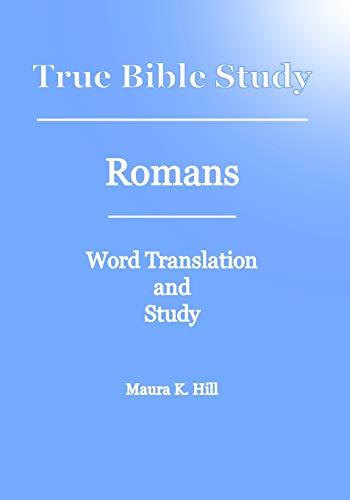 9781438257860: True Bible Study - Romans