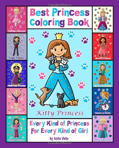 9781438264264: Best Princess Coloring Book Ever!