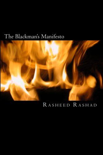 9781438264363: The Blackman's Manifesto: A book by a black man for black men