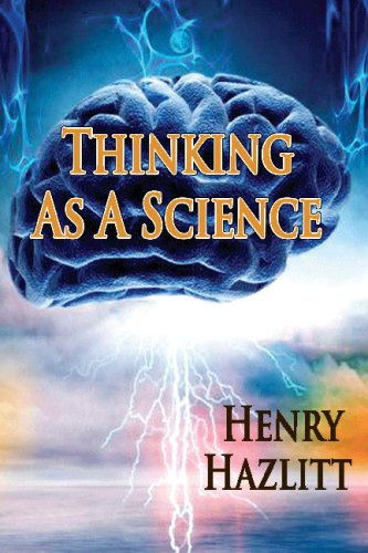 9781438284736: Thinking As A Science [Paperback] by