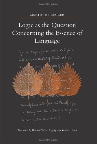 9781438426730: Logic As the Question Concerning the Essence of Language (Suny Series in Contemporary Continental Philosophy)