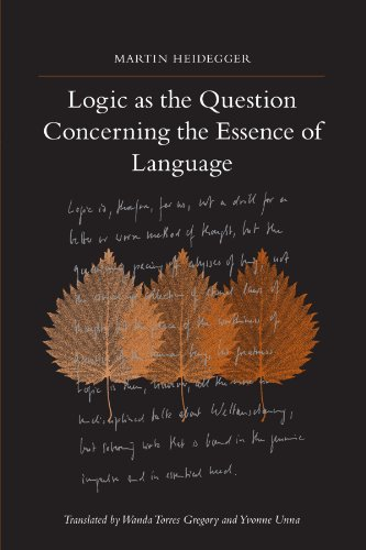 9781438426747: Logic As the Question Concerning the Essence of Language (SUNY series in Contemporary Continental Philosophy)