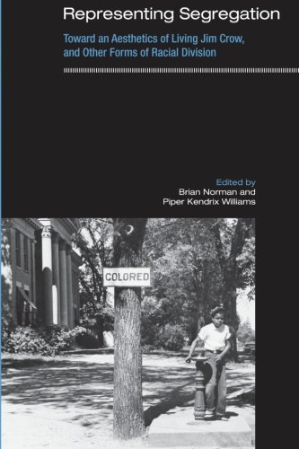 9781438430324: Representing Segregation: Toward an Aesthetics of Living Jim Crow, and Other Forms of Racial Division