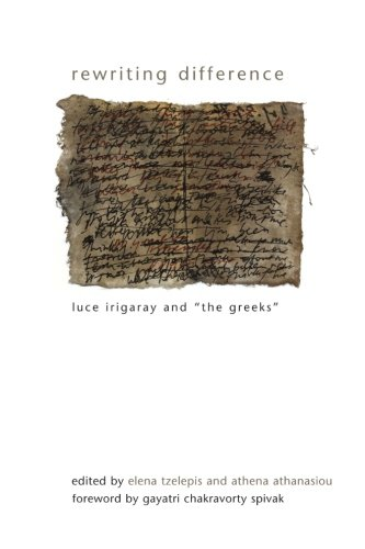 9781438431000: Rewriting Difference: Luce Irigaray and 'the Greeks' (SUNY series in Gender Theory)