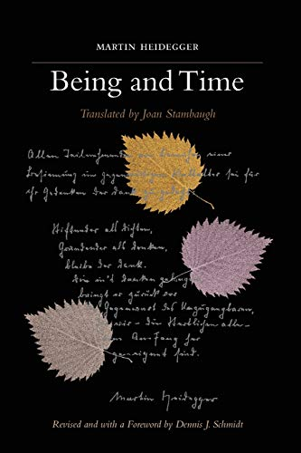Being and Time: A Revised Edition of: Martin Heidegger