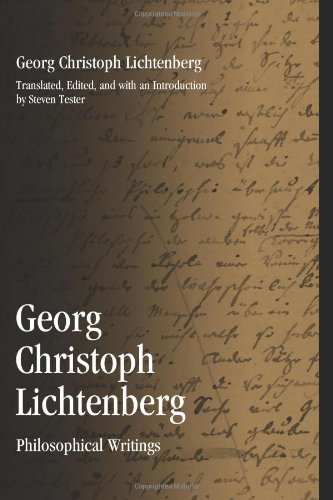 9781438441979: Georg Christoph Lichtenberg: Philosophical Writings (SUNY Series in Contemporary Continental Philosophy)