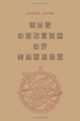 9781438444154: The Orders of Nature