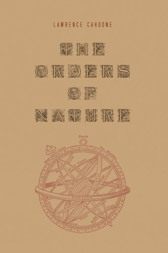 9781438444161: The Orders of Nature