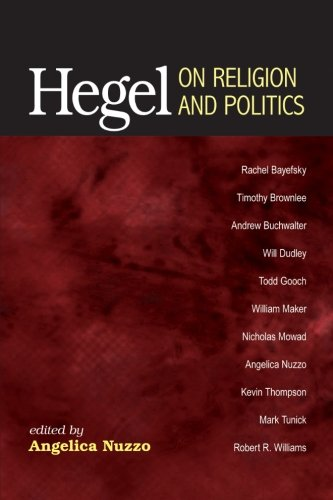 9781438445663: Hegel on Religion and Politics
