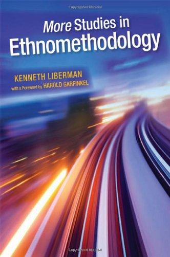 9781438446196: More Studies in Ethnomethodology (SUNY series in the Philosophy of the Social Sciences)