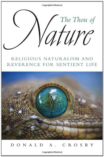 The Thou of Nature (Hardback): Donald A. Crosby