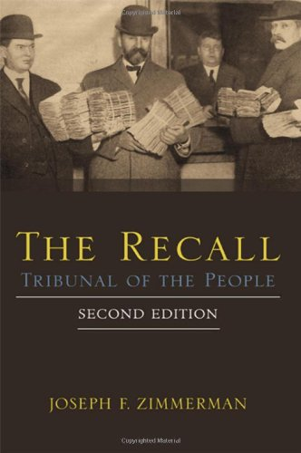9781438449258: The Recall: Tribunal of the People