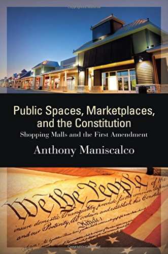 9781438458434: Public Spaces, Marketplaces, and the Constitution: Shopping Malls and the First Amendment (SUNY series in American Constitutionalism)