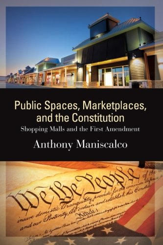 9781438458441: Public Spaces, Marketplaces, and the Constitution: Shopping Malls and the First Amendment (SUNY series in American Constitutionalism)