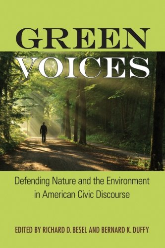 9781438458502: Green Voices: Defending Nature and the Environment in American Civic Discourse
