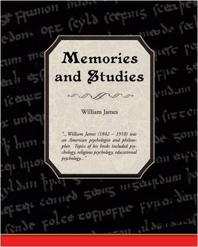 9781438501871: Memories and Studies