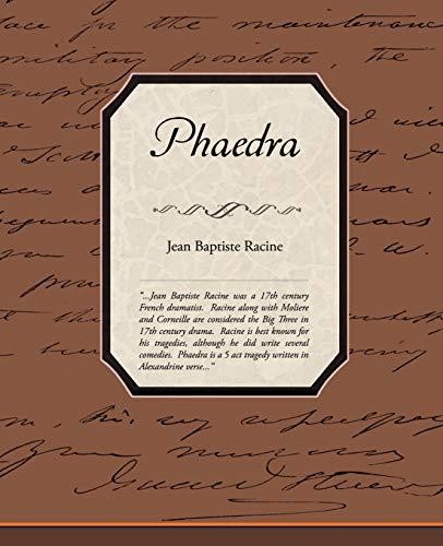 Phaedra: Jean Baptiste Racine