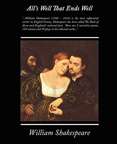9781438503721: Alls Well That Ends Well (The Plays of Shakespeare)