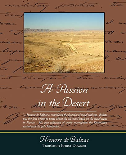 9781438505572: A Passion in the Desert