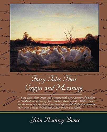 the historical reasons for the origins of fairy tales and tales of wonder Once upon a time is an overview of the history of fairy tales — the major players, the major theories, the major events from the early, sinister folktales and the me this was originally published at the scrying orb.