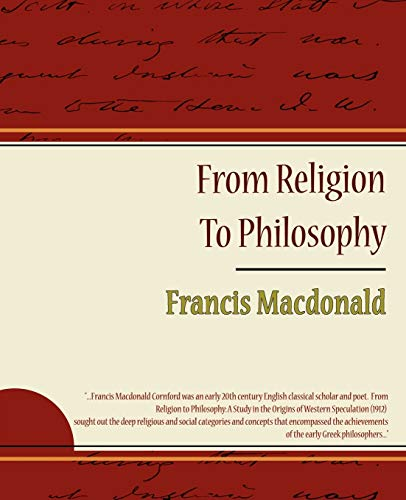 9781438509181: From Religion To Philosophy