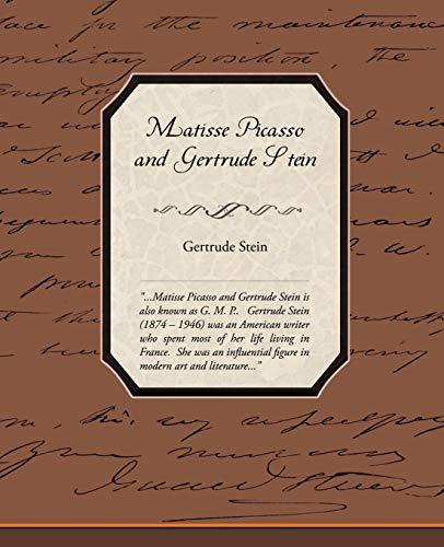 9781438509471: Matisse Picasso and Gertrude Stein