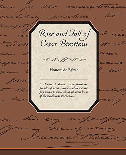9781438511665: Rise and Fall of Cesar Birotteau
