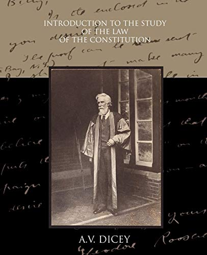 9781438518688: Introduction to the Study of the Law of the Constitution