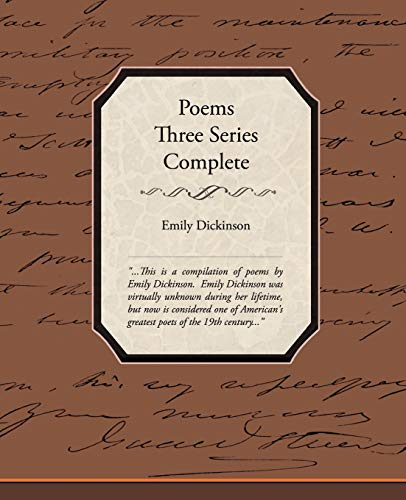 9781438527109: Poems Three Series Complete