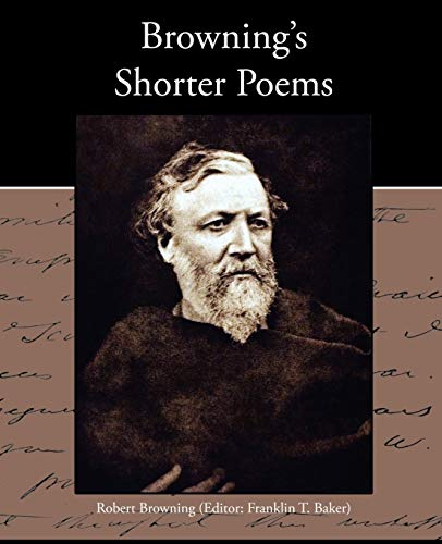 9781438535333: Browning's Shorter Poems
