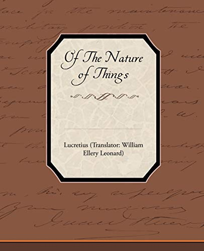 Of The Nature of Things: Lucretius