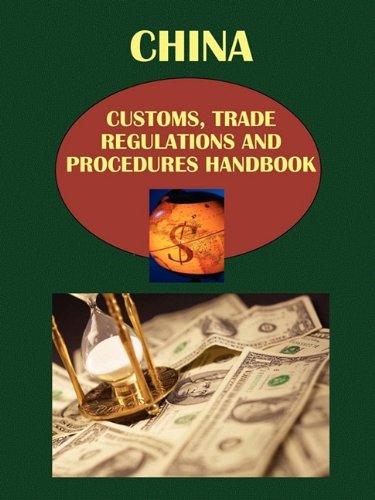 9781438708683: China Customs, Trade Regulations and Procedures Handbook