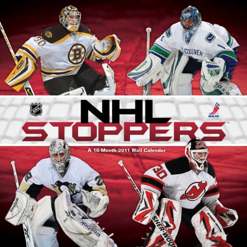 9781438807140: NHL Stoppers 2011 Wall Calendar