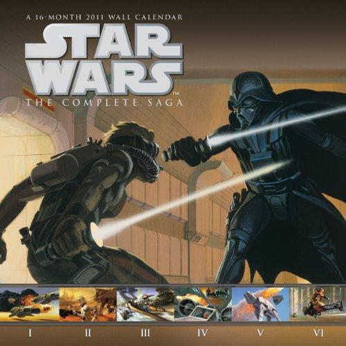 Star Wars The Saga 2011 Wall Calendar: DateWorks