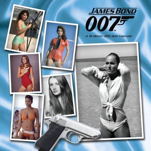 9781438809236: Official James Bond Girls 2011 Square Calendar