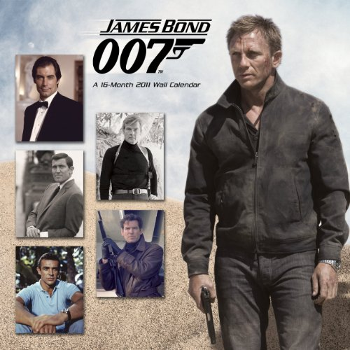 9781438809243: James Bond Compilation 2011 Wall Calendar