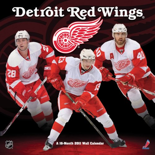 9781438809984: Detroit Red Wings 2011 Wall Calendar