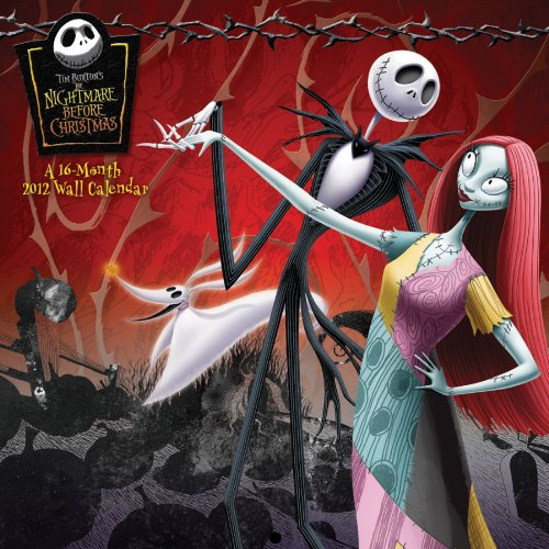 9781438813271: Tim Burton's The Nightmare Before Christmas 2012 Calendar