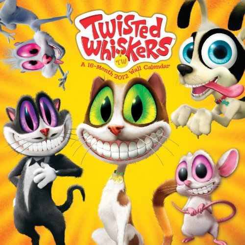 Twisted Whiskers 2012 Wall Calendars: DateWorks