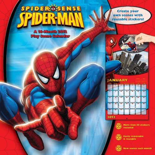 Spiderman Comic 2012 Wall Calendar with Stickers