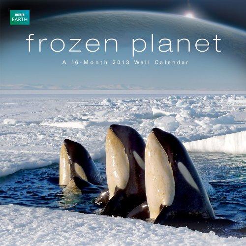9781438819617: Planet Earth Frozen Planet 2013 Linen Wall Calendar