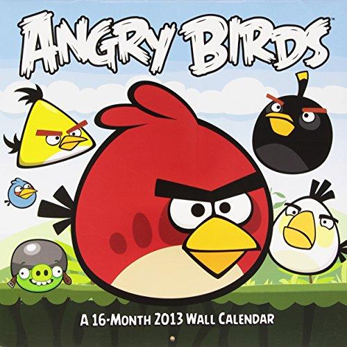 9781438820118: Angry Birds 2013 Wall Calendar