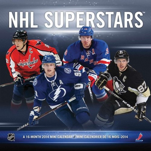 NHL Superstars 2014 Bilingual Mini Calendar: Trends